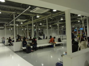Vanilla-Air待機場所