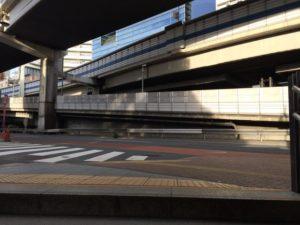 東急東横線の池尻大橋駅から御殿場行きバス停までの道順3