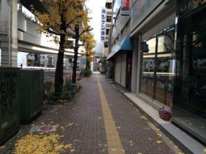 東急東横線の池尻大橋駅から御殿場行きバス停までの道順6