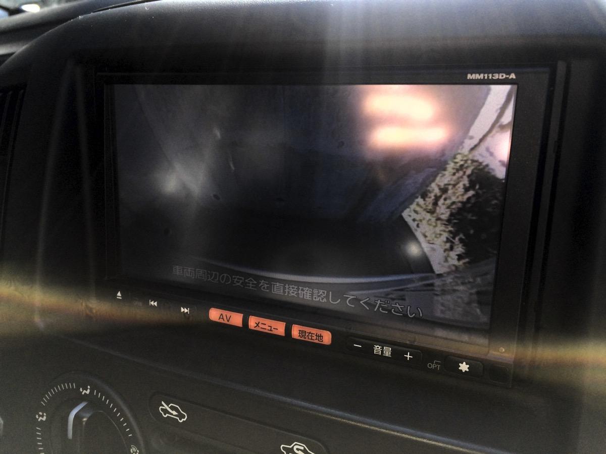 車のバックカメラ
