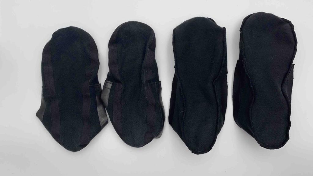 グンゼのフットカバー 浅履きと深履き1